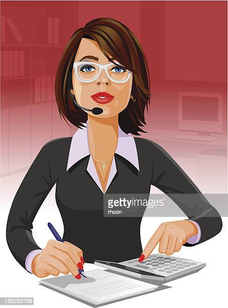 Woman at the office