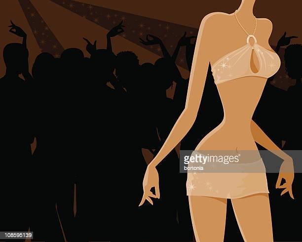 Woman Dancing at a Nightclub