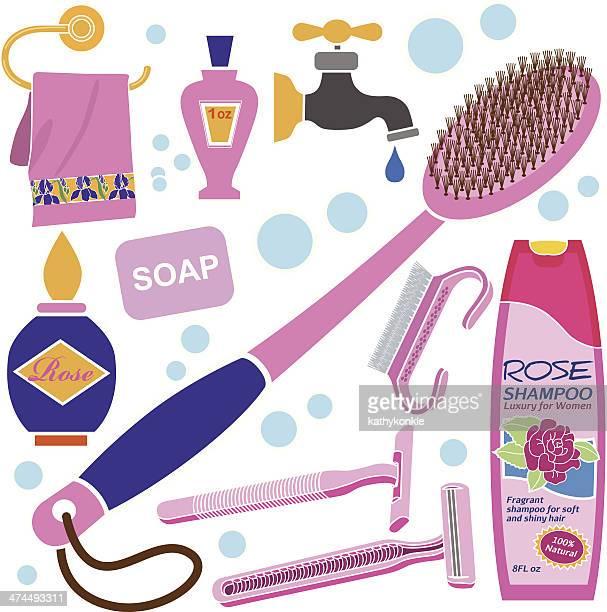 women's bath accessories