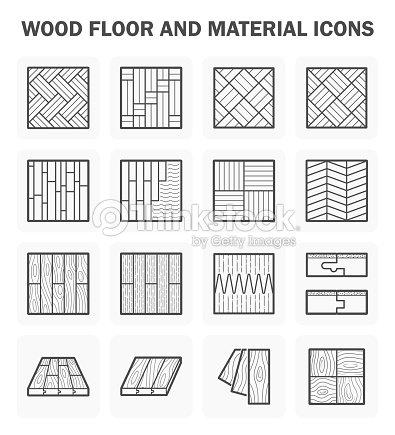 Parquet en bois ic ne clipart vectoriel thinkstock for Wood floor hatch autocad