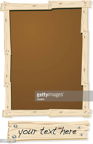 Wood Frame with Nails