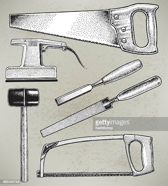 chisel and hammer coloring pages - photo#13