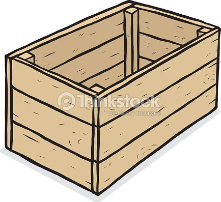 Wooden Box Vector Art | Thinkstock