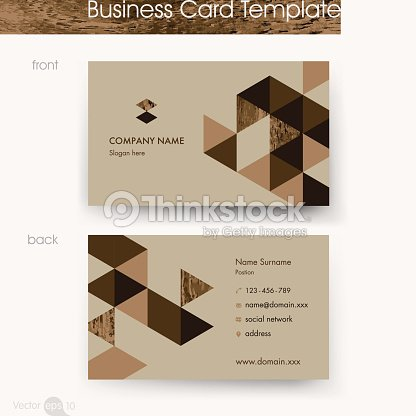 Wooden business card template vector art thinkstock wooden business card template vector art reheart Choice Image