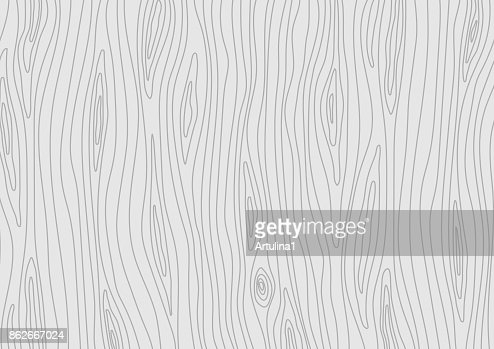 Wooden light grey texture. Vector wood background : Vector Art