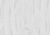 Light grey wooden texture. Vector grain wood background