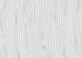 Light grey wooden texture. Vector grain wood background