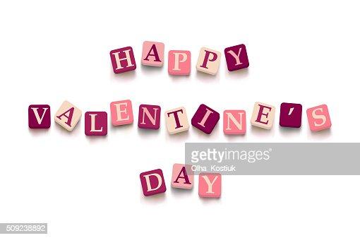 Words Happy Valentine Day Vector Art Thinkstock