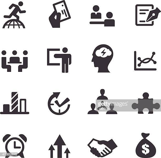 Workflow Management Icons - Acme Series