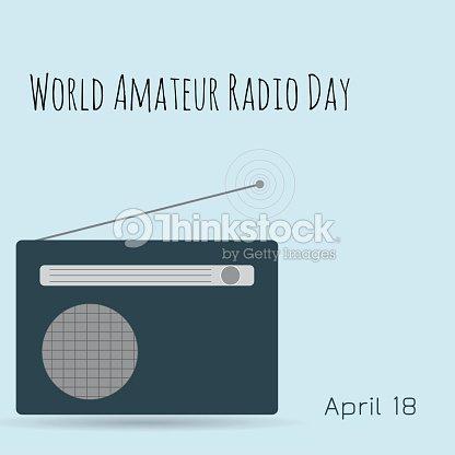 World Amateur Radio Day Radio Tower stock vector - Thinkstock