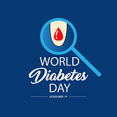 World diabetes day. 14 November.