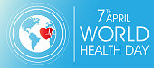 world health day on April 7 background