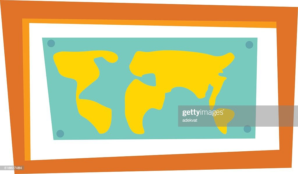 Vector world map countries vector and clip art inspiration world map countries picture frame travel geography vector vector art rh thinkstockphotos com vector world map selectable countries vector world map gumiabroncs Gallery