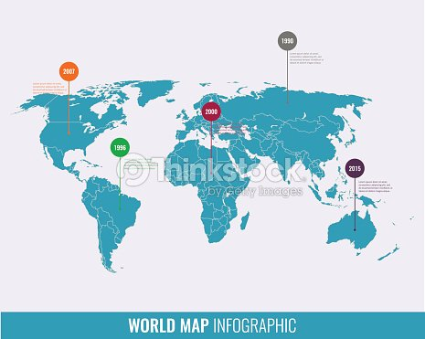 World map infographic template all countries are selectable vector world map infographic template all countries are selectable vector art gumiabroncs Choice Image