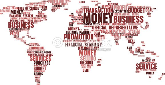 World map of business word cloud tags vector art thinkstock world map of business word cloud tags vector art gumiabroncs Choice Image