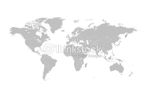世界地図のベクトル : ベクトルアート