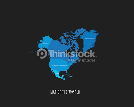 World map with different colored continents illustration vector art world map with different colored continents illustration vector art gumiabroncs Choice Image