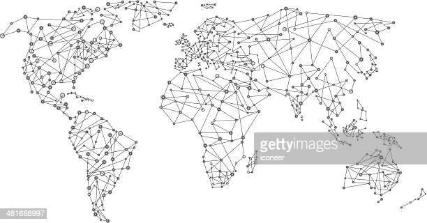 World network map