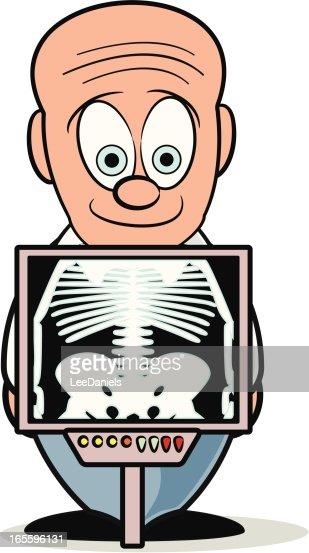 Xray Cartoon Vector Art   Getty Images