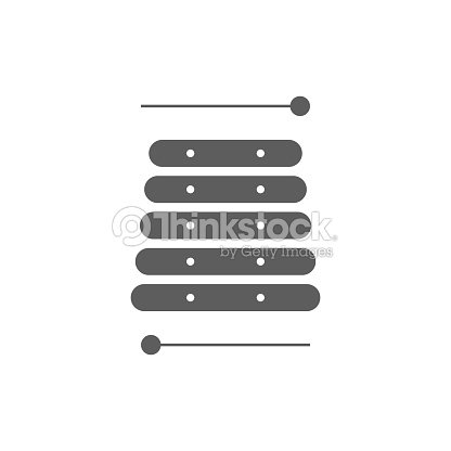 Xylophone Sign Icon Vector Music Symbol Vector Illustration For Web