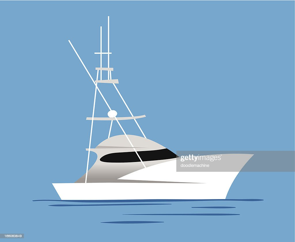 Yacht icon : Vector Art