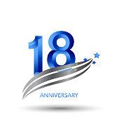 Years Anniversary Celebration Design series