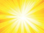 yellow rays background modern style