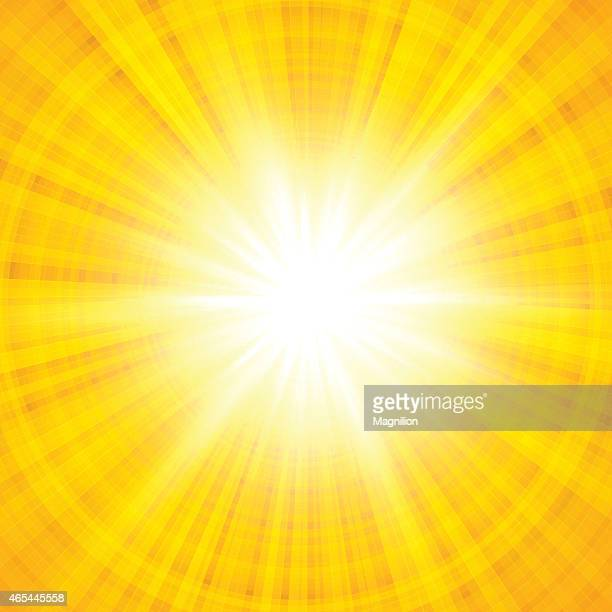 Yellow Sunlight Background