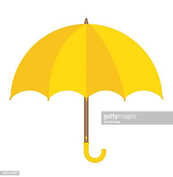 Sombrilla amarilla