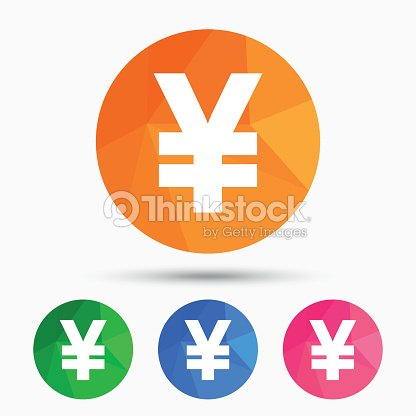 Yen Sign Icon Jpy Currency Symbol Vector Art Thinkstock