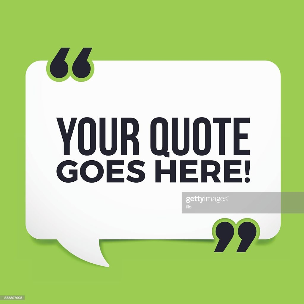 Your Quote Here : Vector Art