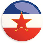 Flag Socialist Federal Republic of Yugoslavia