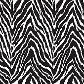 black and white animal print