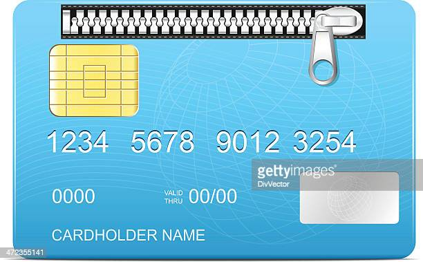 Zipped credit card
