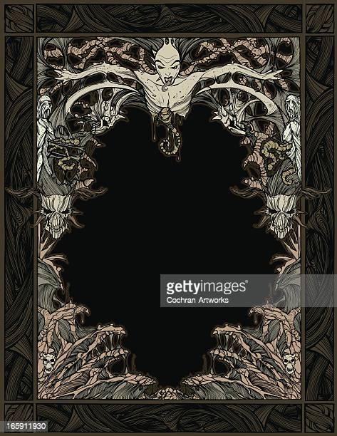 Zombie Devil Frame