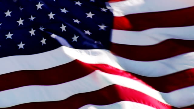 LOOP: US FLAG. HD 1080P