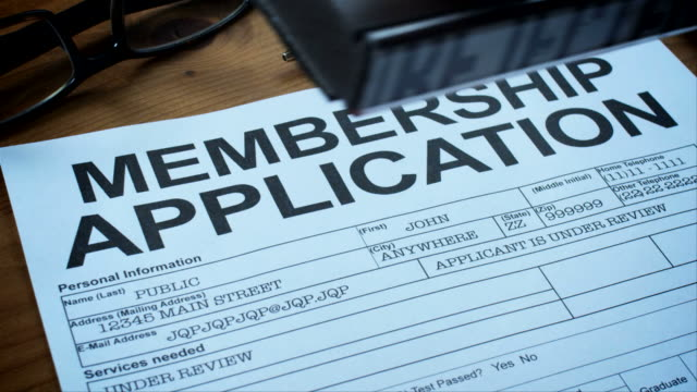MEMBERSHIP APPLICATION FORMS-1080HD