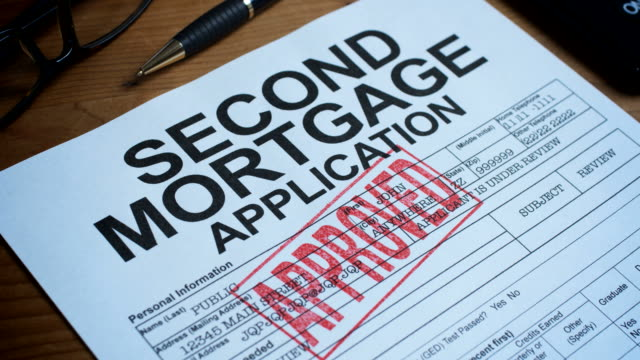 SECOND MORTGAGE FORM-1080HD