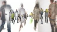 INFINITE FOLLA ANDARE-INFINITE DI SPAZI BIANCHI: Series_crowd_m8 (loop