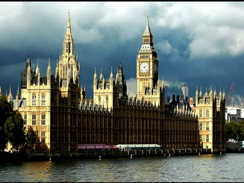 LONDON, BIG BEN & HOUSE OF COMMONS-SD2B