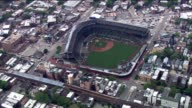 Aerial Of Wrigley Field