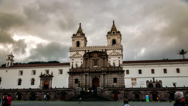 HYPERLAPSE IGLESIA SAN FRANCISCO QUITO ECUADOR