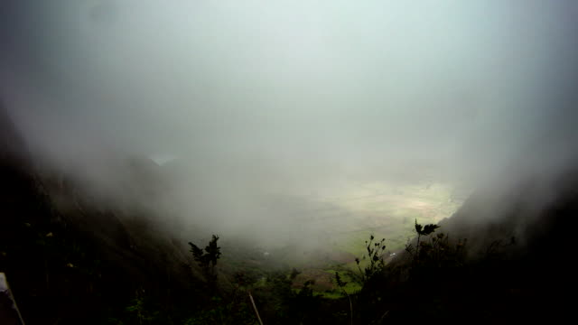 TIMELAPSE VOLCAN PULULAHUA CRATER