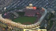 Aerial Shot of Angel Stadium