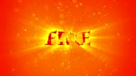 FIRE ELEMENT FLAME TYPE