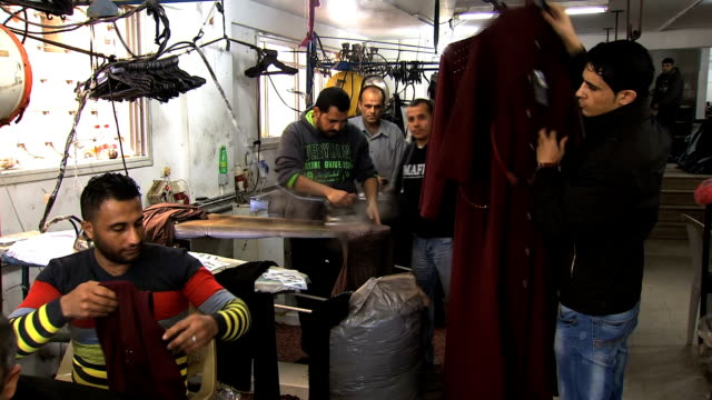 PALESTINE GAZA CLOTHES FACTORY