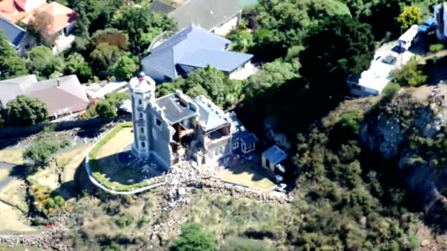Aerial views reveal the destruction and devastation following the February 22 earthquake in Christchurch Images