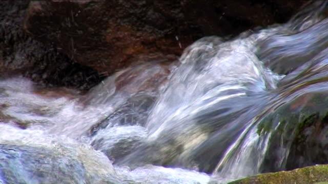 CLEAR FRESH WATERFALL