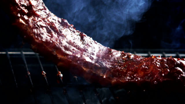 RACK OF RIBS- SLOW MOTION