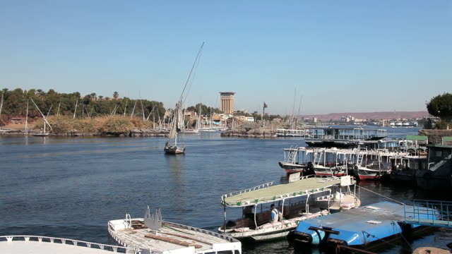 FERRY BOATS AND FELUCCA